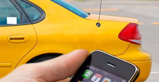 Онлайн заказ такси в Крыму
